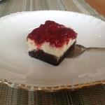 Strawberry Crush Cheesecake Brownie