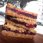 Berry Chocolate Cookie Bars