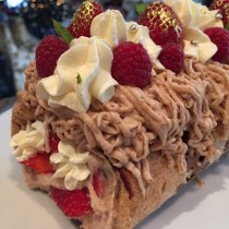 Mont Blanc Roulade