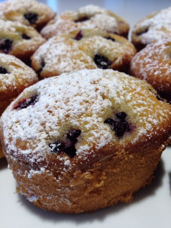 Blackberry Friands