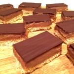 Hybrid Chocolate Caramel Slicce