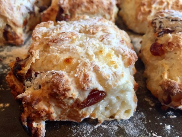Cheese and Date Scones
