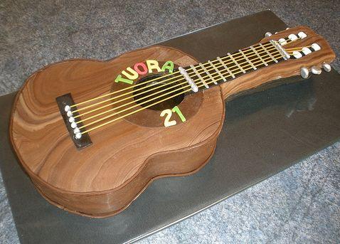 Chocolate Guitar Birthday Cake Jpg 2 Comments