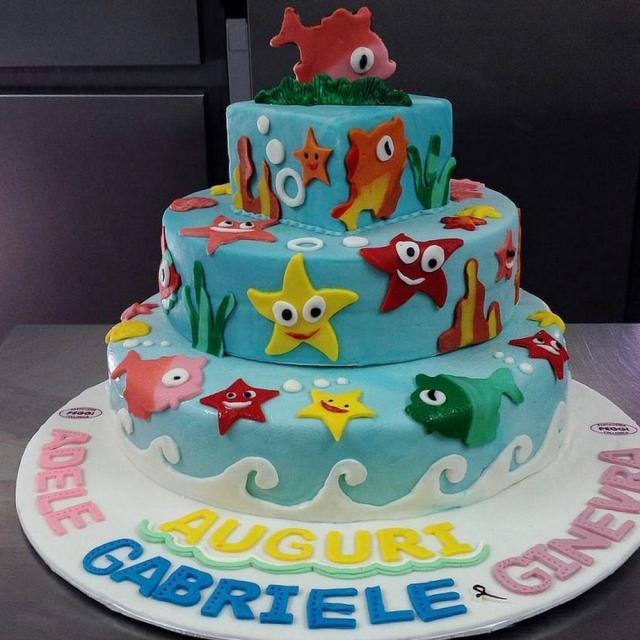 Cartoon Cakes Are Life Size