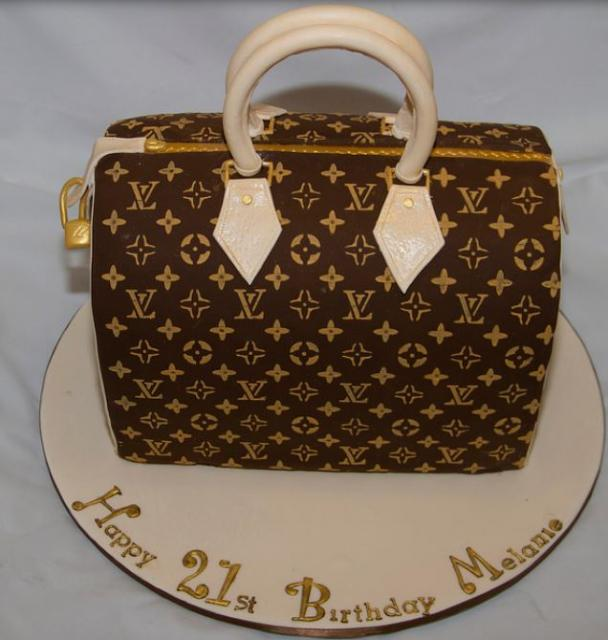 21st Lv Speedy Handbag Birthday Cake Picture Jpg 1 Comment