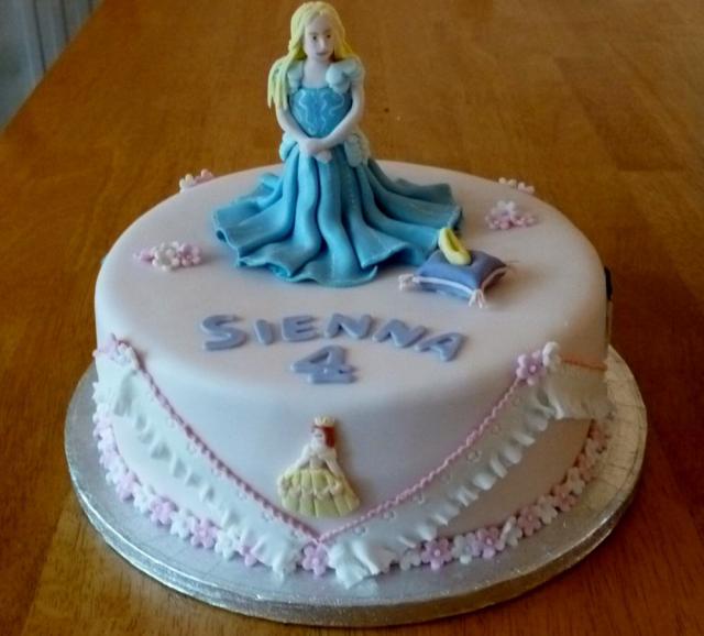 Princess Theme 4th Birthday Cake For Girl Jpg Hi Res 720p Hd