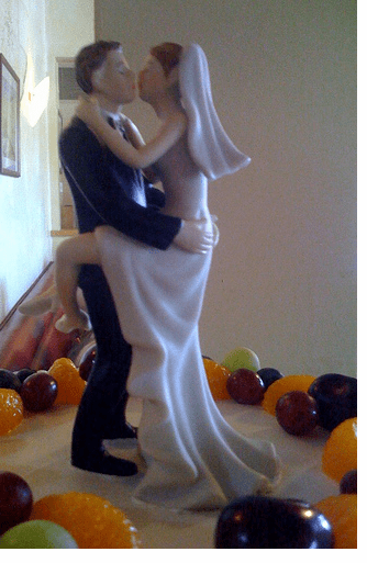 Naughty Wedding Cake Topper picturePNG 1 comment