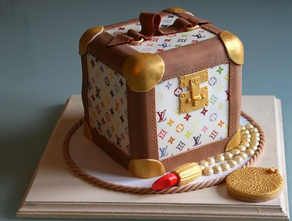 Louis Vuitton Make Up Box Cake With Lipstick Jpg 3 Comments