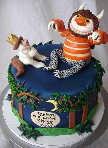 Where The Wild Things Are Cake Jpg 1 Comment