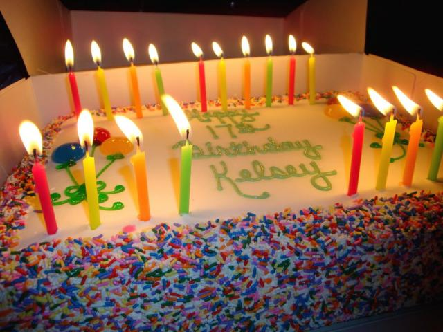 Big Fun Birthday Cake With Alot Of Candles Jpg 1 Comment