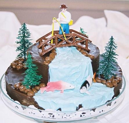 Fishing Grooms Cake Jpg 1 Comment