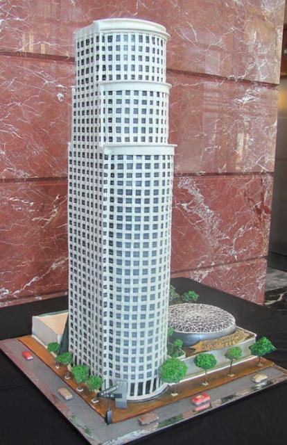 Skyscraper Building Cake JPG 1 Comment