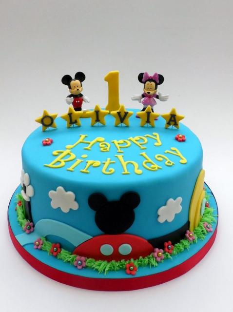 Mickey Mouse Birthday Cake For 2 Year Old The Best Cake Of 2018