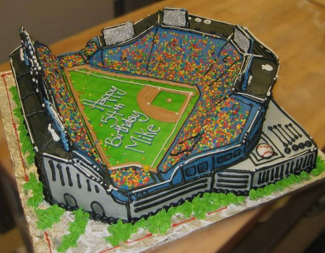 Baseball Field Birthday Cake 1 Comment Hi Res 720p HD