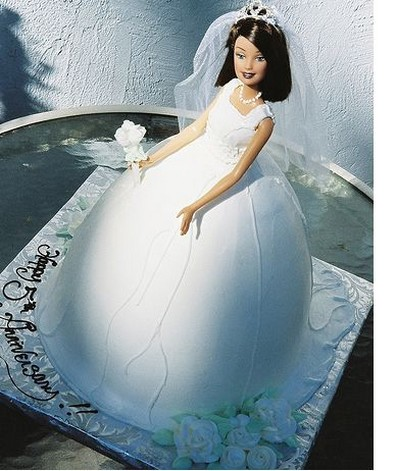photo of Bridal barbie cake for bridal showerjpg 1 comment