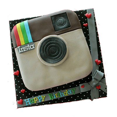 Instagram Crazy Cake