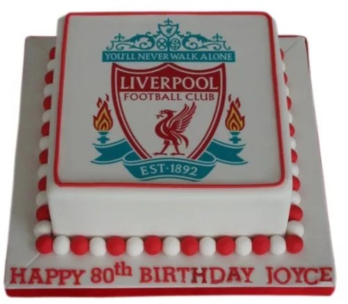 Liverpool Football Club Cake