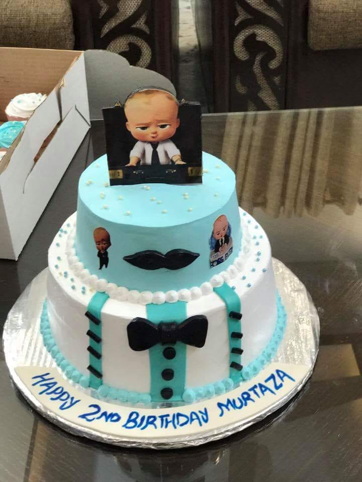 Get The Most Delicious Black Boss Baby Cake At The Low Prices