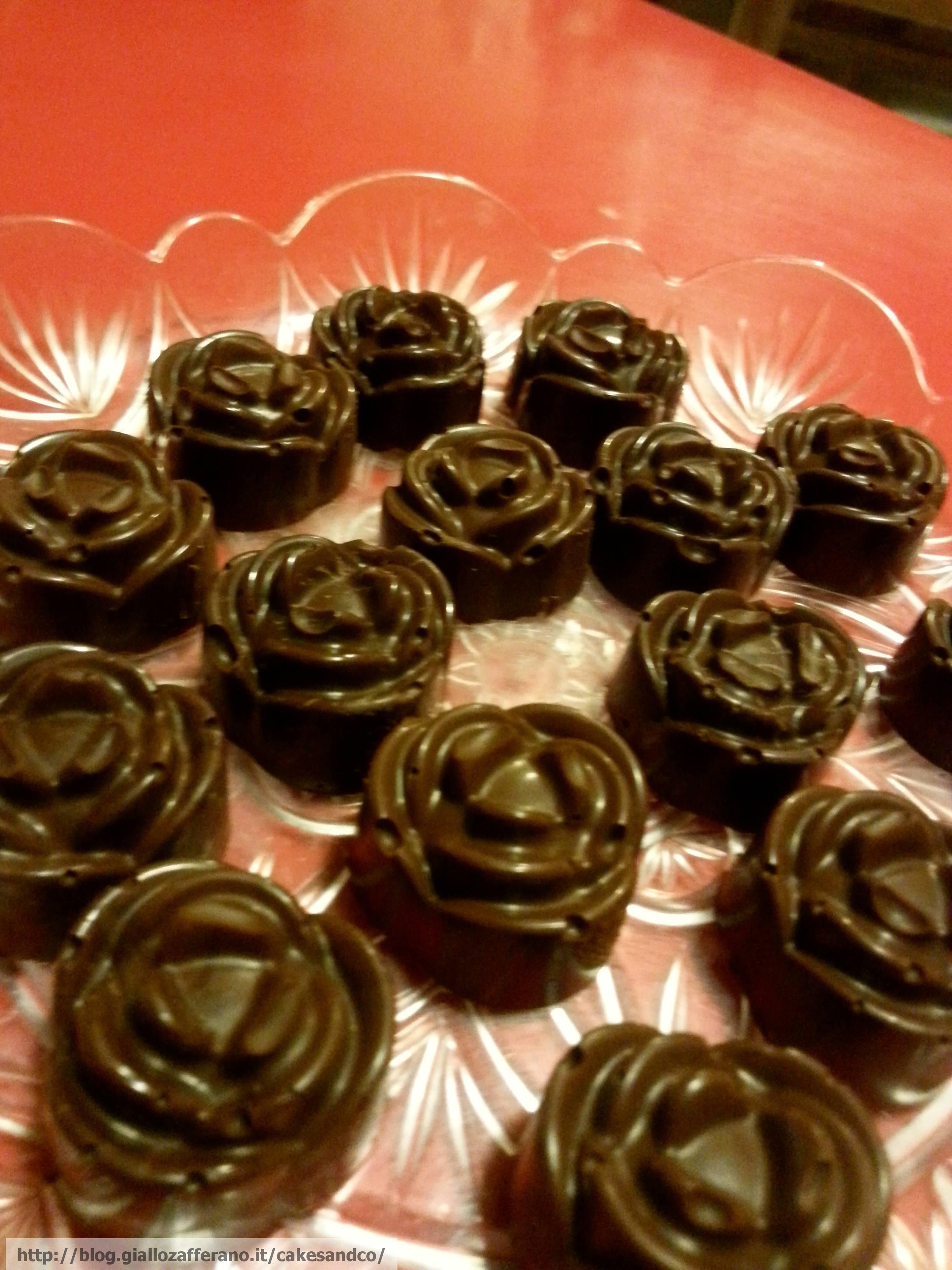 Cioccolatini alla crema di nocciole