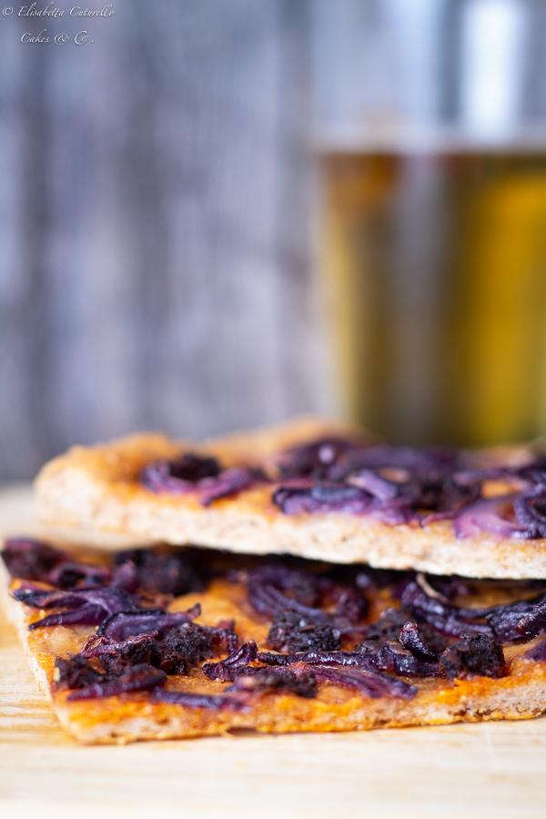Pizza cipolla di Tropea e 'nduja