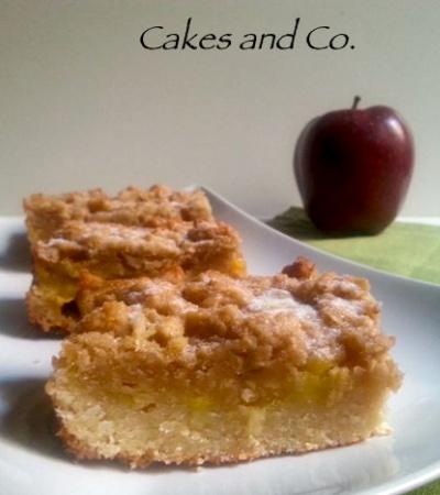biscotti al crumble di mele
