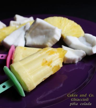 Ghiaccioli Piña Colada per Cakes Lab