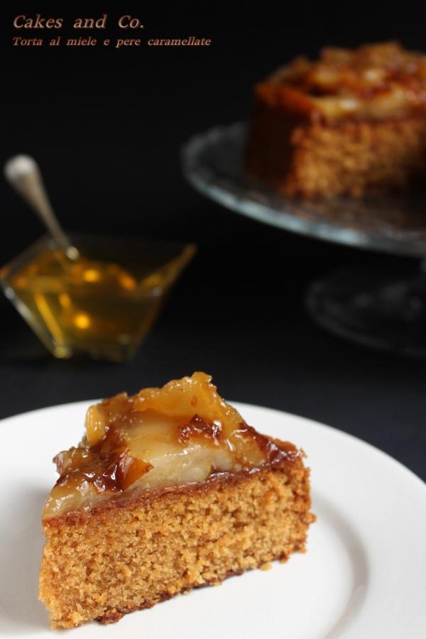 Torta al miele e pere caramella te IMG_0041