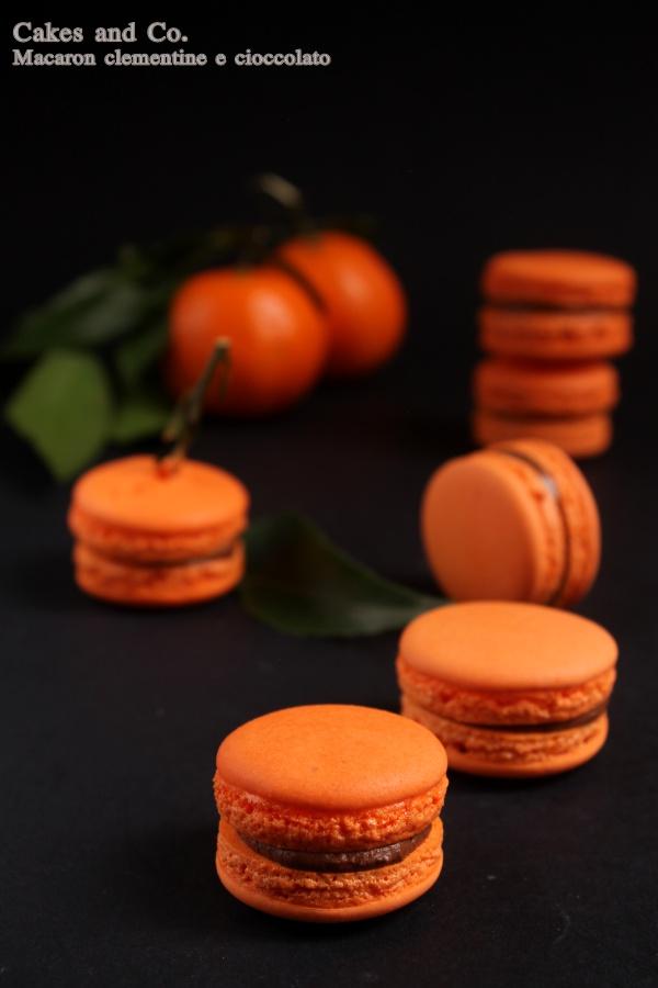 Macaron clementine e cioccolatoIMG_0467