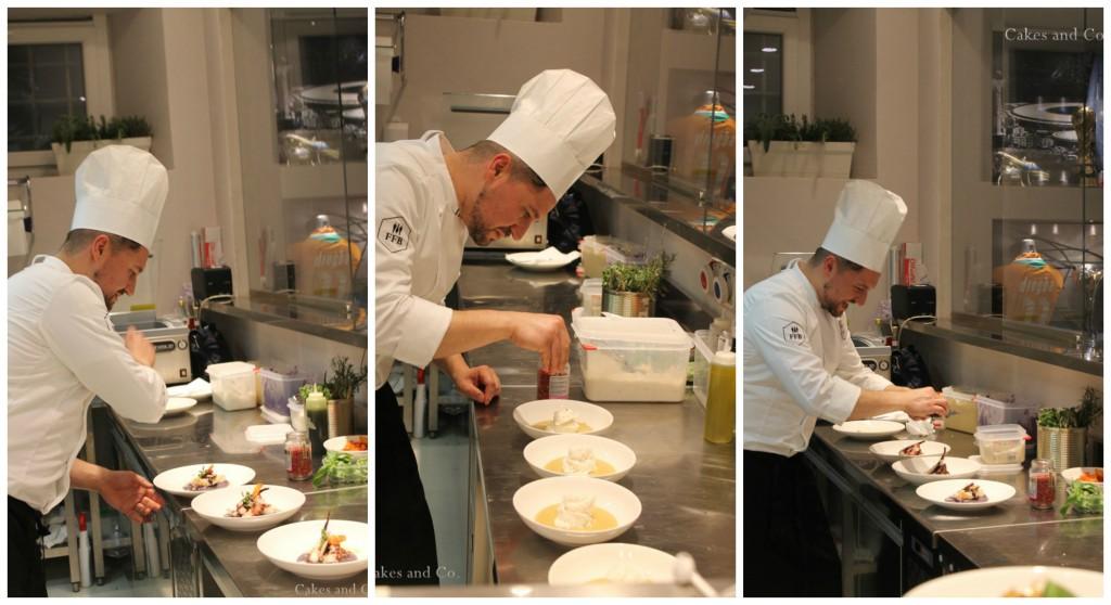 Fashion FoodBaller collage chef