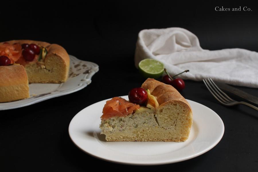 Brioche-ai-formaggi-salmone-e-ciliegie 2