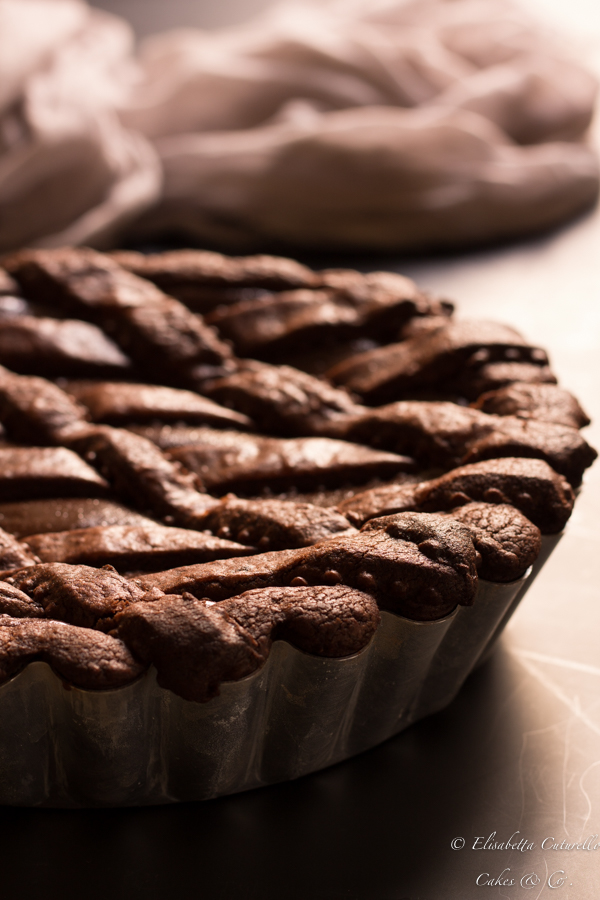 Crostata al cioccoltao fondente