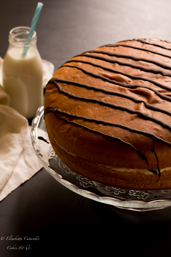 Torta Brioss al latte per Cakes Lab test and Taste