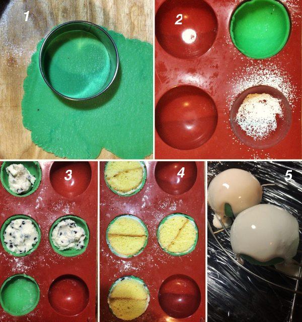 Le Minnuzze di Sant'Agata o cassatelle di Sant'Agata sono dei dolci tradizionali siciliani realizzati durante i giorni della festa di Sant'Agata. Composizione del dolce