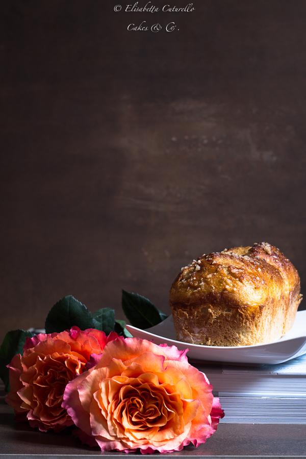Pan brioche dolce arancia e zenzero