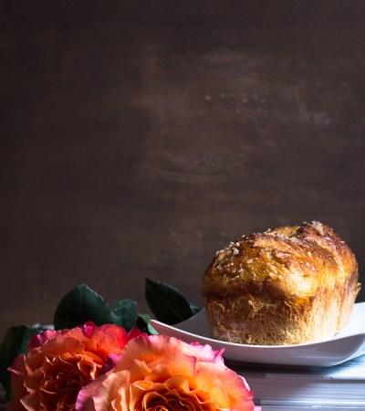Pan brioche dolce all'arancia e zenzero