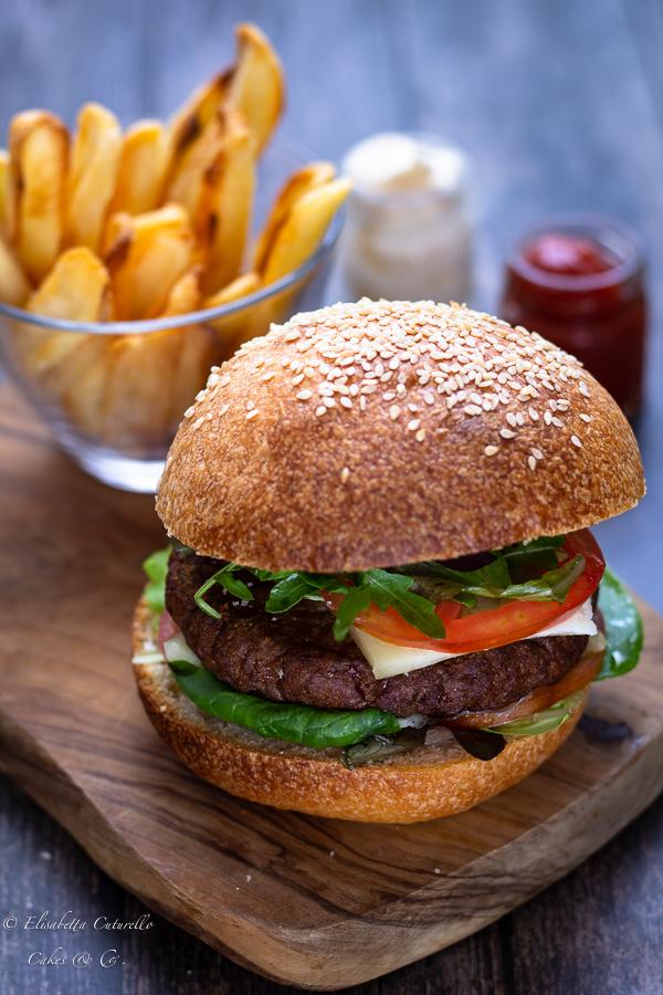 Panini per hamburger (Burger buns) con licoli