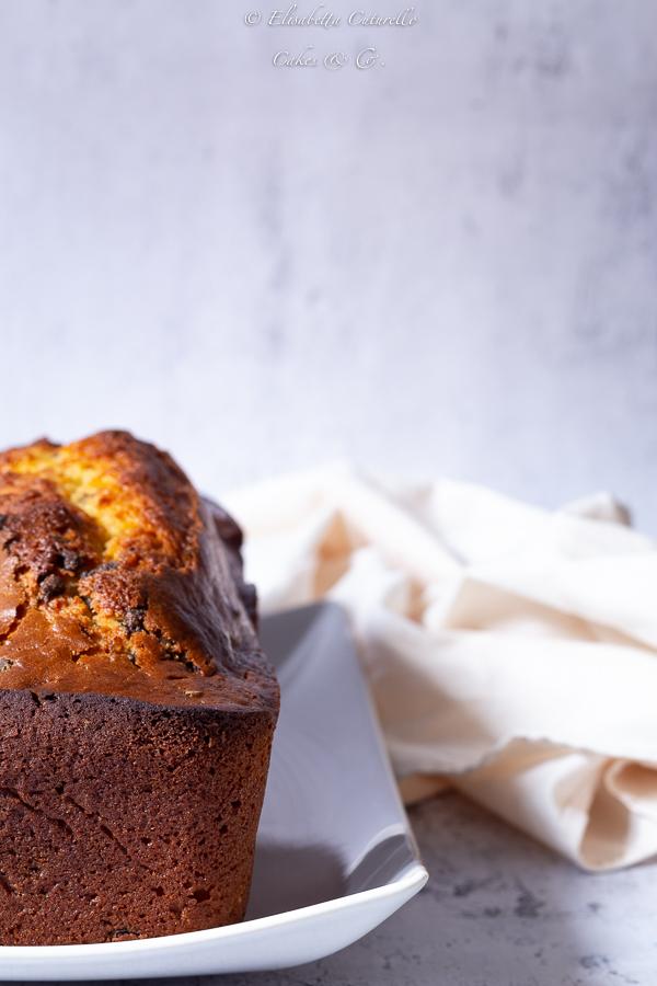 Plumcake alla ricotta e gocce di cioccolato