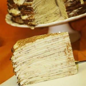 Milktart crepe cake