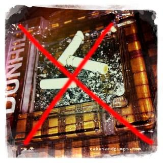 One year a non-smoker
