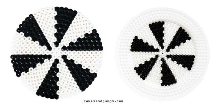 Coaster5, made of hama ironing beads