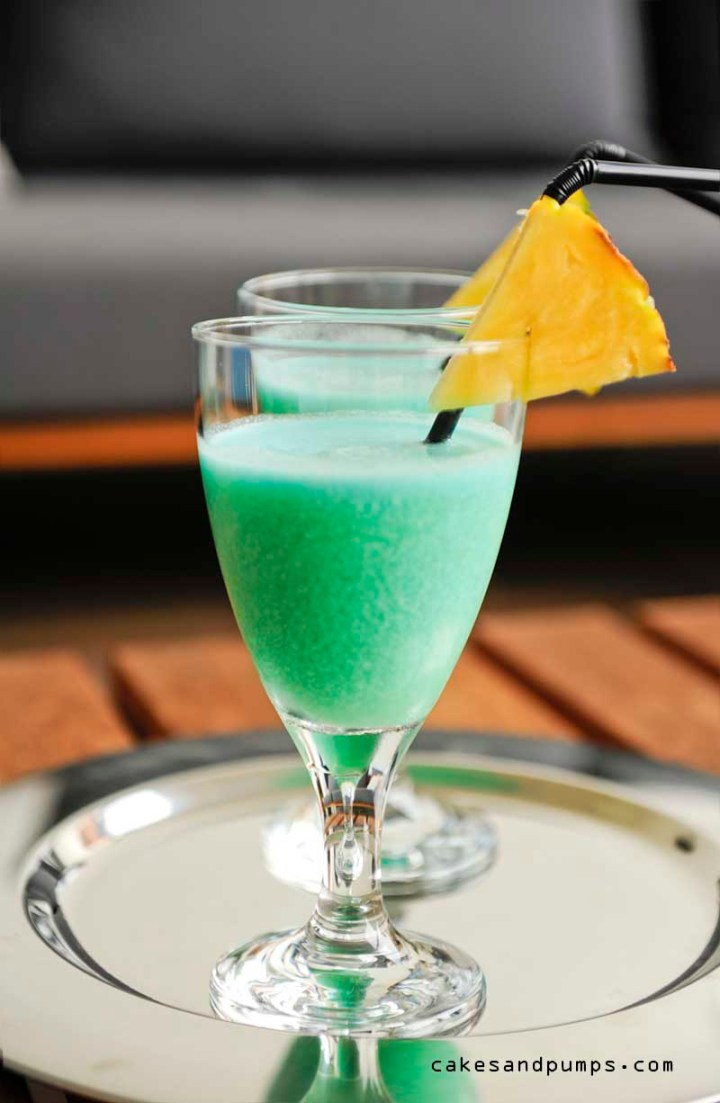 Blue Hawaiian for Cocktail Friday
