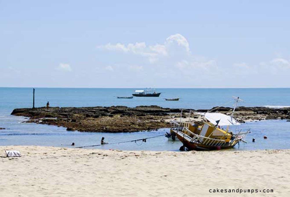 Leuk strandje in Brazilië