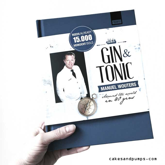 Book of Manuel Wouters about different gins