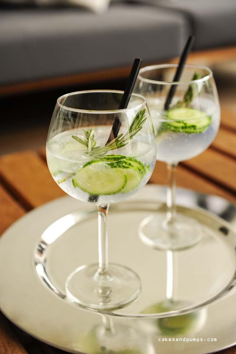 Gin tonic met Hendricks gin en Fentimans