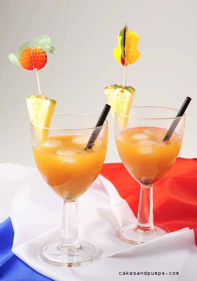 Orange plantation cocktail