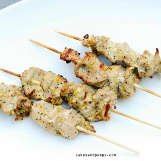 BBQ: Pork Tenderloin skewers