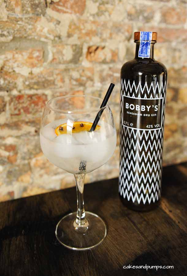 Cocktail friday with bobby's gin and fever tree mediterranean, cakesandpumps.com