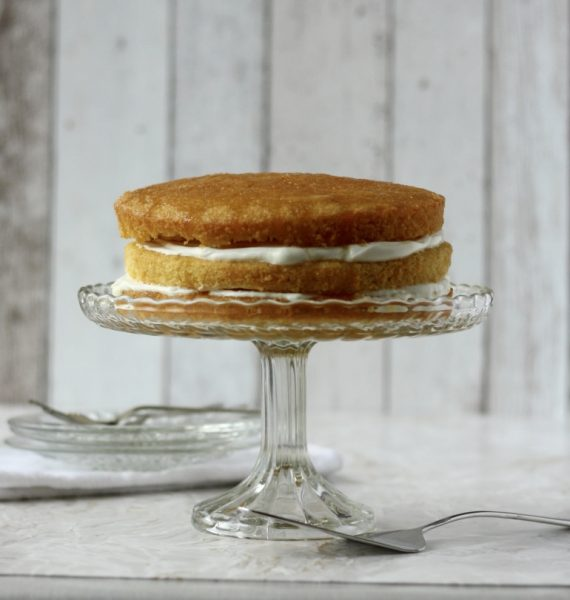 lemon victoria sponge cake recipe