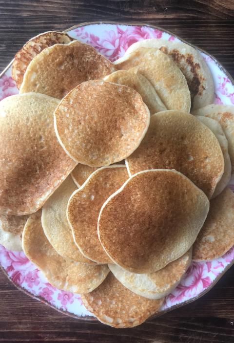 passover banana pancakes