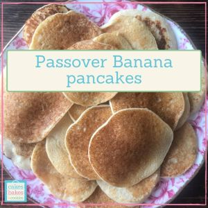 passover banana pancakes